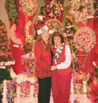 Kaua'i Festival of Lights - Elizabeth Freeman and Aunt Josie